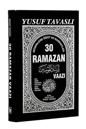 TAVASLI YAYINEVİ - 30 Ramazan Vaazı - Yusuf Tavaslı