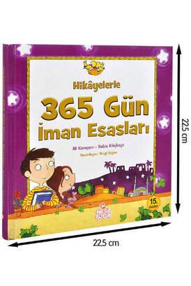 Nesil Yayınevi - 365 Days of Faith with Stories Religious Educational Book -1193