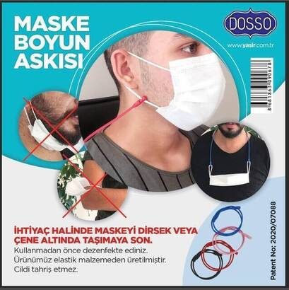 Tevhid Seda - 3 Piece Mask Neck Strap