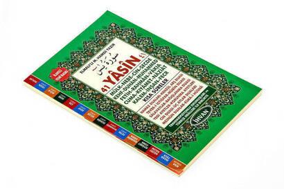 İhvan 41 Yasin Kitabı - Orta Boy - 176 Sayfa - Fihristli - Yeşil Renk - Mevlid Hediyeliği