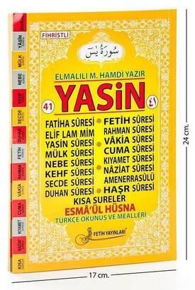 Fetih Yayınları - 41 Yasin Kitabı - Rahle Boy - 128 Sayfa - Fetih Yayınları - Mevlid Hediyeliği