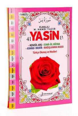 Fetih Yayınları - 41 Yasin Kitabı - Rahle Boy - 160 Sayfa - Elmalılı M. Hamdi Yazır Meali - Fetih Yayınları - Mevlid Hediyeliği