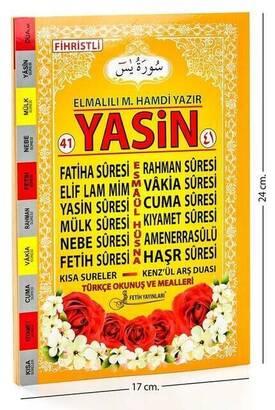 Fetih Yayınları - 41 Yasin Book - Medium Size - 64 Pages - Conquest Publications - Mevlid Gift