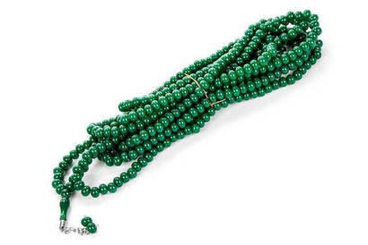 İhvan - 500'lük Tesbih - Koyu Yeşil (Adet)