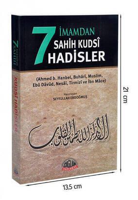 Sağlam Yayınevi - 7 İmamdan Sahih Kudsi Hadisler Kitabı - Sağlam Yayınevi-1468