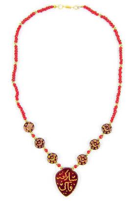 İhvan - Agate Written Necklace