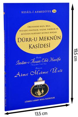 Cübbeli Ahmet Hoca Yayıncılık - Ahmet Mahmut Ünlü - Dürrü Meknun Kasidesi'nin Şerhi-1176