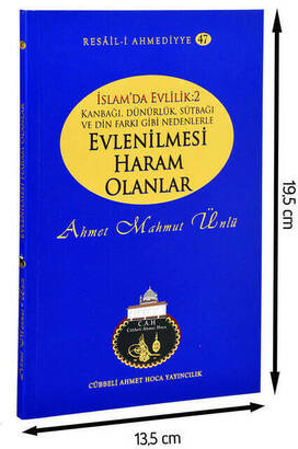 Cübbeli Ahmet Hoca Yayıncılık - Ahmet Mahmut Ünlü - İslamda Evlilik- Evlenilmesi Haram Olanlar-1195