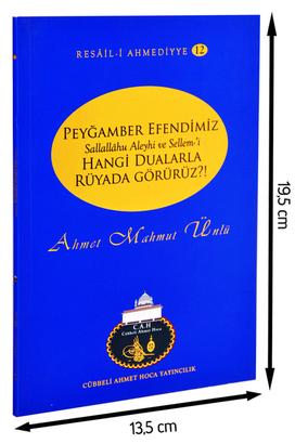 Cübbeli Ahmet Hoca Yayıncılık - Ahmet Mahmut Ünlü - Peygamber Efendimizi Rüyamızda Nasıl Görürüz-1192