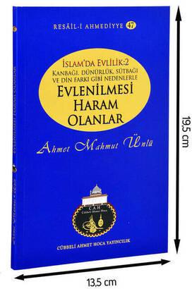 Cübbeli Ahmet Hoca Yayıncılık - Ahmet Mahmut Ünlü - Marriage in Islam - Marriage Prohibited-1195