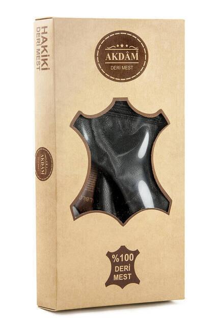 Akdam Goatskin Mest - Black Color