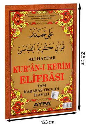 Ayfa Yayınevi - Ali Haydar Elifbası-1659
