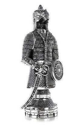 İhvan - Ayetel Kürsi'li Biblo Zırh Büyük- Gümüş