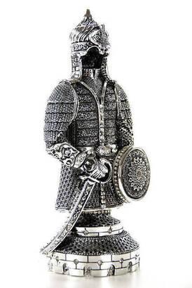 İhvan - Ayetel Kürsi'li Biblo Zırh Küçük - Gümüş