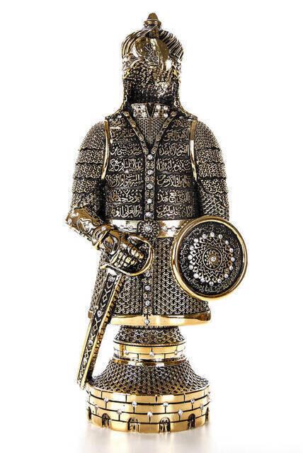 Ayetel Kürsi Trinket Armor Large- Gold
