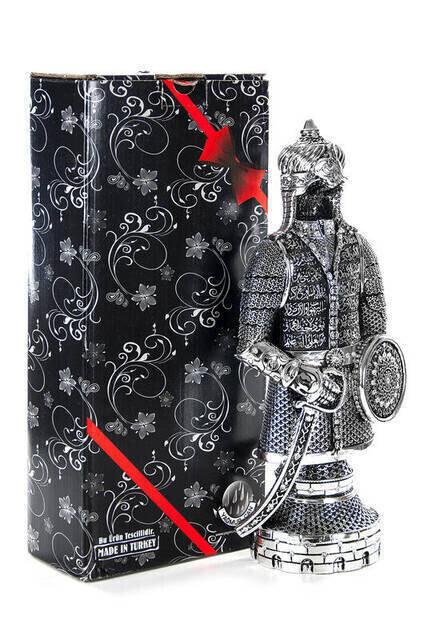 Ayetel Kürsi Trinket Armor Large- Silver