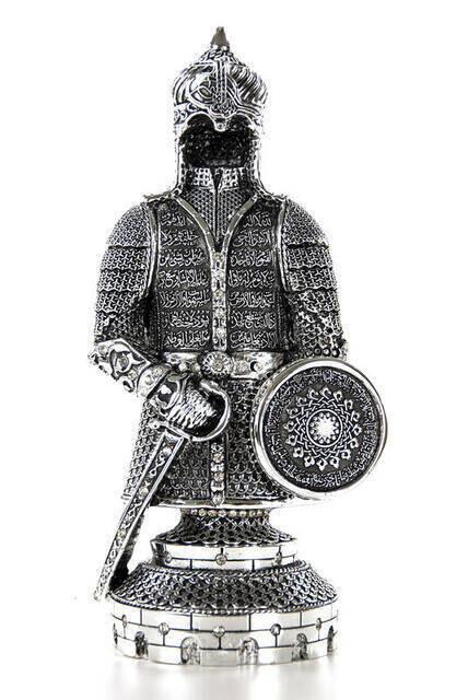 Ayetel Kürsi Trinket Armor Small - Silver