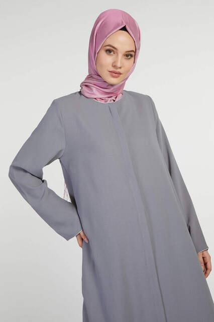 Bayan Hac Umre Kıyafeti Gri