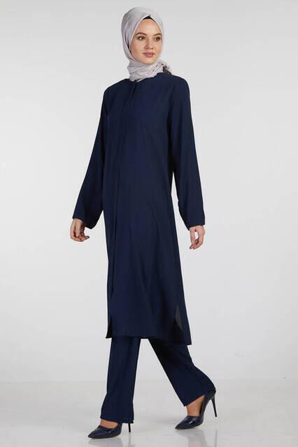 Bayan Hac Umre Kıyafeti Lacivert