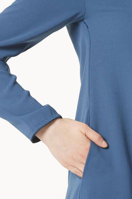 Bayan Hac Umre Kıyafeti Mavi