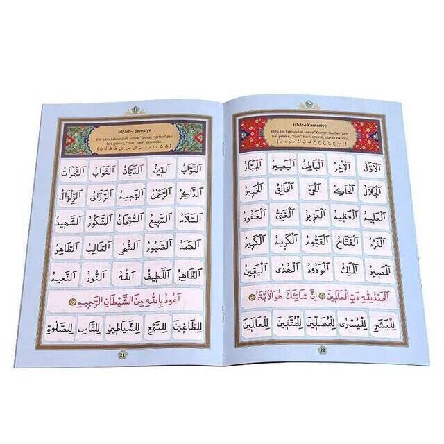 Benim Elifbam (Mavi Kapak)-Dini Eğitici Kitap 1200