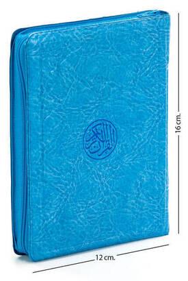 Hayrat Neşriyat - Benim Kuranım - Sade Arapça - Çanta Boy - Mavi - Kılıflı - Mühürlü - Bilgisayar Hatlı