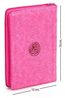 Hayrat Neşriyat - Benim Kuranım - Sade Arapça - Çanta Boy - Pembe - Kılıflı - Mühürlü - Bilgisayar Hatlı