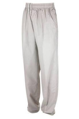 İhvan - Berat Keten Krem Erkek Şalvar - Hac Umre Pantolonu