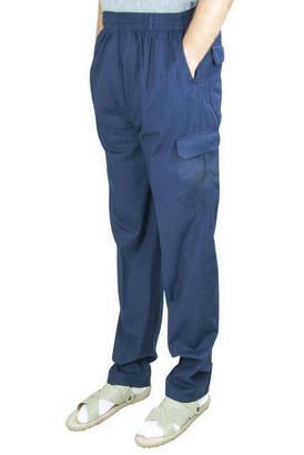 İhvan - Berat Lüks Keten Lacivert Erkek Şalvar - Hac Umre Pantolonu