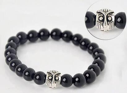 İhvan - Black Axle Stone Bracelet