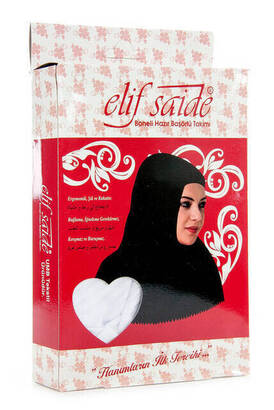 İhvan - Boneli Ready Head Scarf Set White -1154
