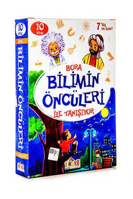 Kaliteli Eğitim Yayınları - Bora Meets The Pioneers of Science (10 Books)