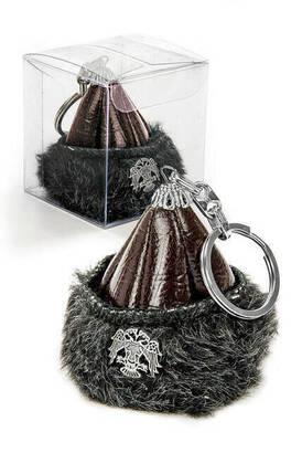 İhvan - Börk Mini Anahtarlık - Kahverengi