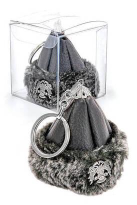 İhvan - Börk Mini Anahtarlık - Siyah