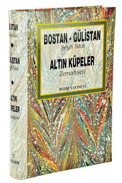 Bostan-Gulistan Gold Earrings-Bedir Publishing House
