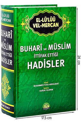 Sağlam Yayınevi - Buhari ve Müslim İttifak Ettiği Hadisler - İthal Kağıt-1471