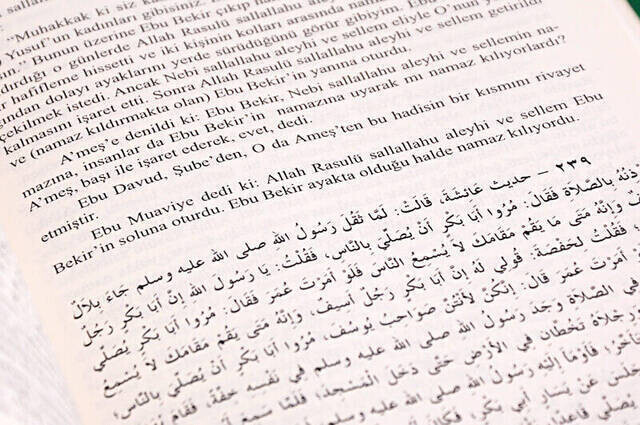 Buhari ve Müslim İttifak Ettiği Hadisler - İthal Kağıt-1471
