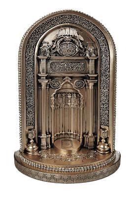 İhvan - Cami Mihrabı Kristal Taş Süslemeli Dini Hediyelik Biblo Küçük Sedef