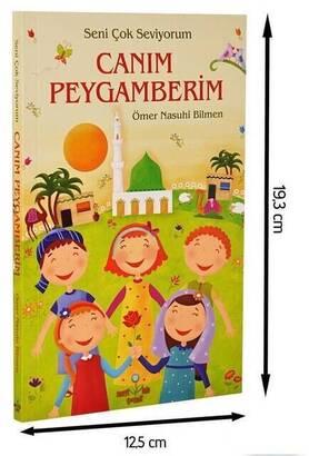 Mavi Lale Çocuksu - Canım Peygamberim Dini Eğitici Kitap-1179
