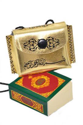 Çantalı Mini Kuran