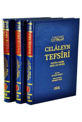 SAĞLAM YAYINEVİ - Celaleyn Tefsiri Tercümesi Kuran-ı Kerim Meali Ve Tefsiri