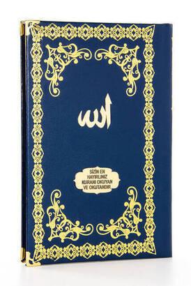 İhvan - Ciltli Yasin Kitabı - İsme Özel Plakalı - Orta Boy - 176 Sayfa - Lacivert Renk - Mevlit Hediyeliği