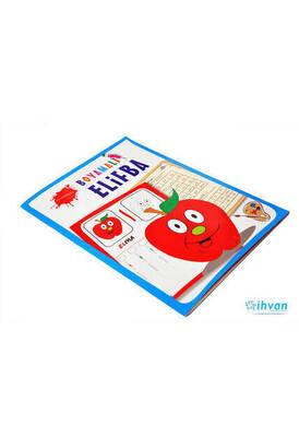 Coloring Elif-ba Book-Religious Educational Book 1198