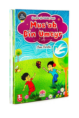 Aktaş Yayıncılık - Companions Life Set for Children 10 Books Set