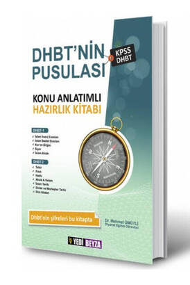 Yedi Beyza Yay. - Compass of DHBT Preparation Book with Subject Explanations