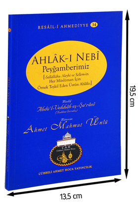 Cübbeli Ahmed Hoca Ahlakı Nebi Kitabı-1187