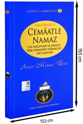 Cübbeli Ahmet Hoca Yayıncılık - Cübbeli Ahmed Hoca Cemaatle Namaz Kitabı-1186