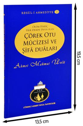 Cübbeli Ahmet Hoca Yayıncılık - Cübbeli Ahmed Hoca Çörek Otu Mûcizesi ve Şifâ Duâları-1179