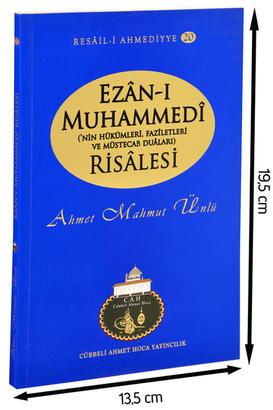 Cübbeli Ahmet Hoca Yayıncılık - Cübbeli Ahmed Hoca Ezân-ı Muhammedî Risalesi-1173