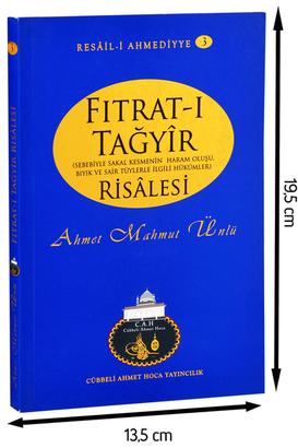 Cübbeli Ahmet Hoca Yayıncılık - Cübbeli Ahmed Hoca Fıtrat-ı Tağyir Risalesi -1180